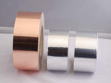 Laminated copper tape for cable shielding