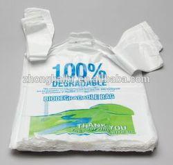 T-shirt plastic shopping bag