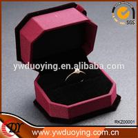 2014 New Elegant Fashion Colorful Multicolored Square Jewelry Gift Box