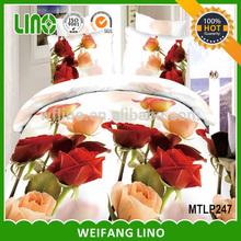 chinese bedding set/super king bedding comforter sets/king size 3d bedding set