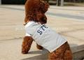 2014 del verano del animal doméstico ropa gris promoción barato ropa para perros fábrica