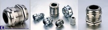 IP68,PG9,Metric,Brass,Nickel-plated cable gland