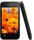 "Original Lenovo A66 3G android smart phone 3.5"" MTK6575 256MB RAM 512MB ROM 2.0MP camera dual SIM cards WCDMA Bluetooth"