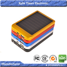 mobile phone charger manufacturer high quality solar charger 2600mah for Galaxy S3 Blackberry etc smart phones