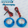 12v Universal Motorcycle Brake Light Led Driving Decoration Headlight With Many Color Housing