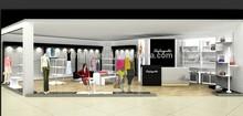 fashion display cabinet, dispaly showcase, display case