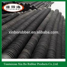 industrial heavy duty flexible connecting flange rubber hose/rubber floating hose/dredge suction hose