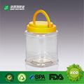 plástico frasco de pedreiro com punho