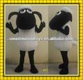 hecho a mano de los animales traje de la mascota grande para adultos shaun las ovejas juguetes para la venta