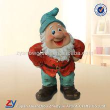 Handmade 2014 garden gnome statue