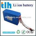 Li pacco batterie agli ioni di 24v 20ah per bici elettrica, pesca, carrello di golf
