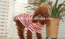 Pet Products Shop 100PCS Spring Autumn Colorful Ventilate Fashionable Pet Clothes For Dogs