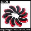 2014 New Black+Red 10pcs/set Golf Club Iron Covers Set Headcover For Golf Iron heads
