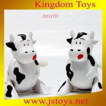 plastic toy bulls