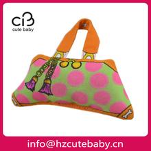 bag shaped animal sound plush dog toy