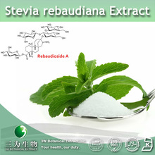 100% Natural Sweetener Stevia rebaudiana Extract ( Steviol glycosides, Rebaudioside A) for you health