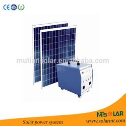 Best quality 500w off-grid portable solar power system use Yingli solar panel