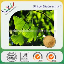 free sample HACCP KOSHER FDA manufacturer pure 24/6 total flavone glycoside/terpene lactone ginkgo biloba extract powder
