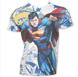 Superman I'm Superman Costume Dc Comics Front Sublimation Print T-Shirt