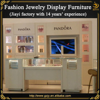 High-end pandora jewelry display for jewelry shop design