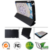 Factory flip stand leather case cover for ipad 2/3/4