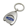 Customized Car Brand Token Coin Metal Keyring Factory