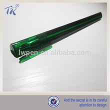 Promotional Plastic Transparent Triangular Ballpoint Pen