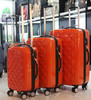 ABS PC trolley luggage in set/ beauty suitcase/ fashionable travel bag