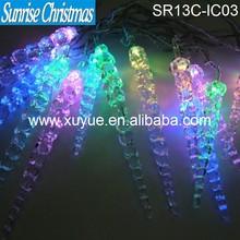 Window decorative Led icicle lights Christmas lighting