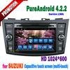 Android 4.2 car gps navigation for suzuki swift with radio wifi buletooth 2011 2012