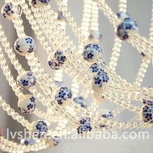 Crystal bead curtain