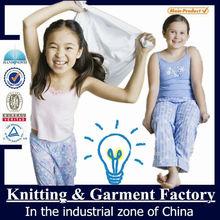 cat print pajamas/cotton sleep wear/women cotton knit pajama