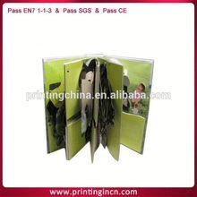 chidren card book printing /kids card book