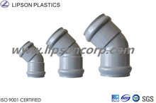 ISO DIN ASTM JIS BS Rubber Joint PVC Elbow Pipe Fittings