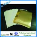 En blanco de papel PP blanco brillante láser hoja de etiquetas autoadhesivas para impresora láser