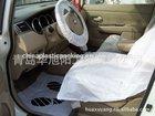 qingdao cheap clear plastic car seat cover