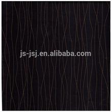 Cor preta papel da melamina para móveis revestimento em alibab site