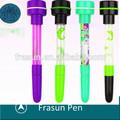 学用品学生スタンプ、 シャボン玉を吹いて子供のための安いロゴボールペン