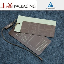 oem custom and cheap price jeans for clothes paper hang tags wholesale