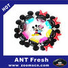 2 Mickey Mouse shape Home Office car air freshener perfume pedestal