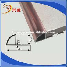 metal tile edge trim,tile carpet transition trim,aluminum profile