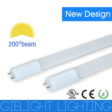 1/2 Aluminum and 1/2 PC cover single-end power supply day white 4000-4500k 4ft 18w t8 led tube light