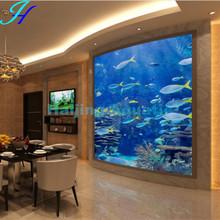 Haijing Acrylic Curve Home Wall Aquarium