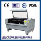 Double laser head 60w 80w 130w eastern co2 laser paper die cutting machine