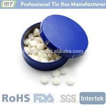 high quality small metal click clack mint tin box, mint tin
