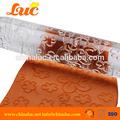 bolo fondant de decoração pintura impressão rolling pin rolo de pastelaria gravação acrílico flor padrão rolo de textura para fondant