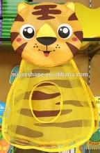 Tiger toy mesh bag pack net organizer