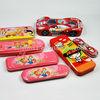 various metal tin pencil case box for children attractive tin pencil case can