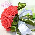 belas flores artificiais de seda buquês de casamento