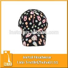 2015 fashion floral baseball cap
